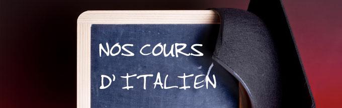 cours pour apprendre italien